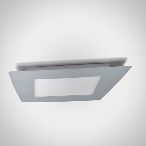 Plafoniera LED grigio